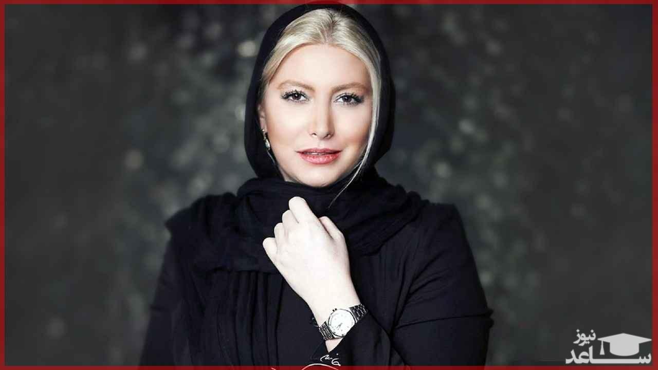 سلفی جدید فریبا نادری در ارتفاعات تهران