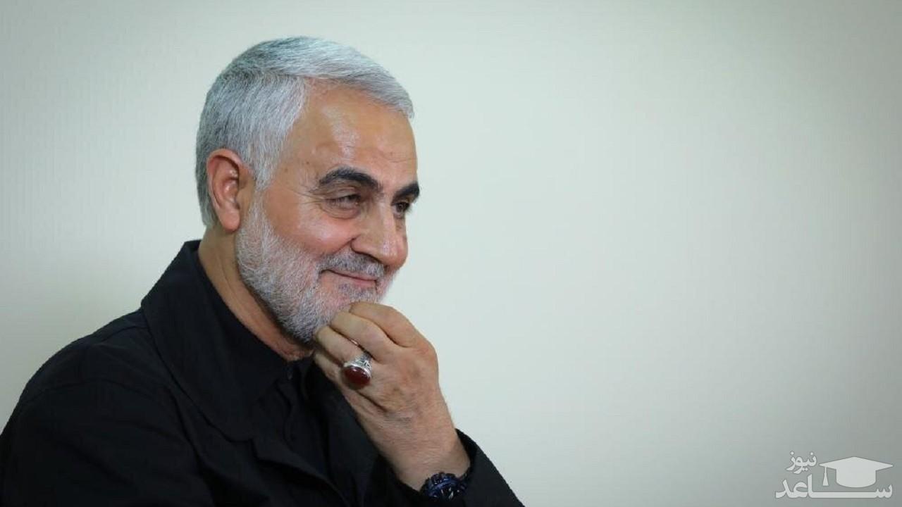 (فیلم) احترام عجیب حاج قاسم به پدرش