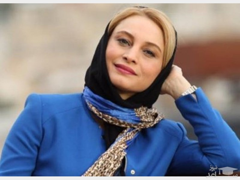 (عکس) باز هم مریم کاویانی و شعارهای سیاسی