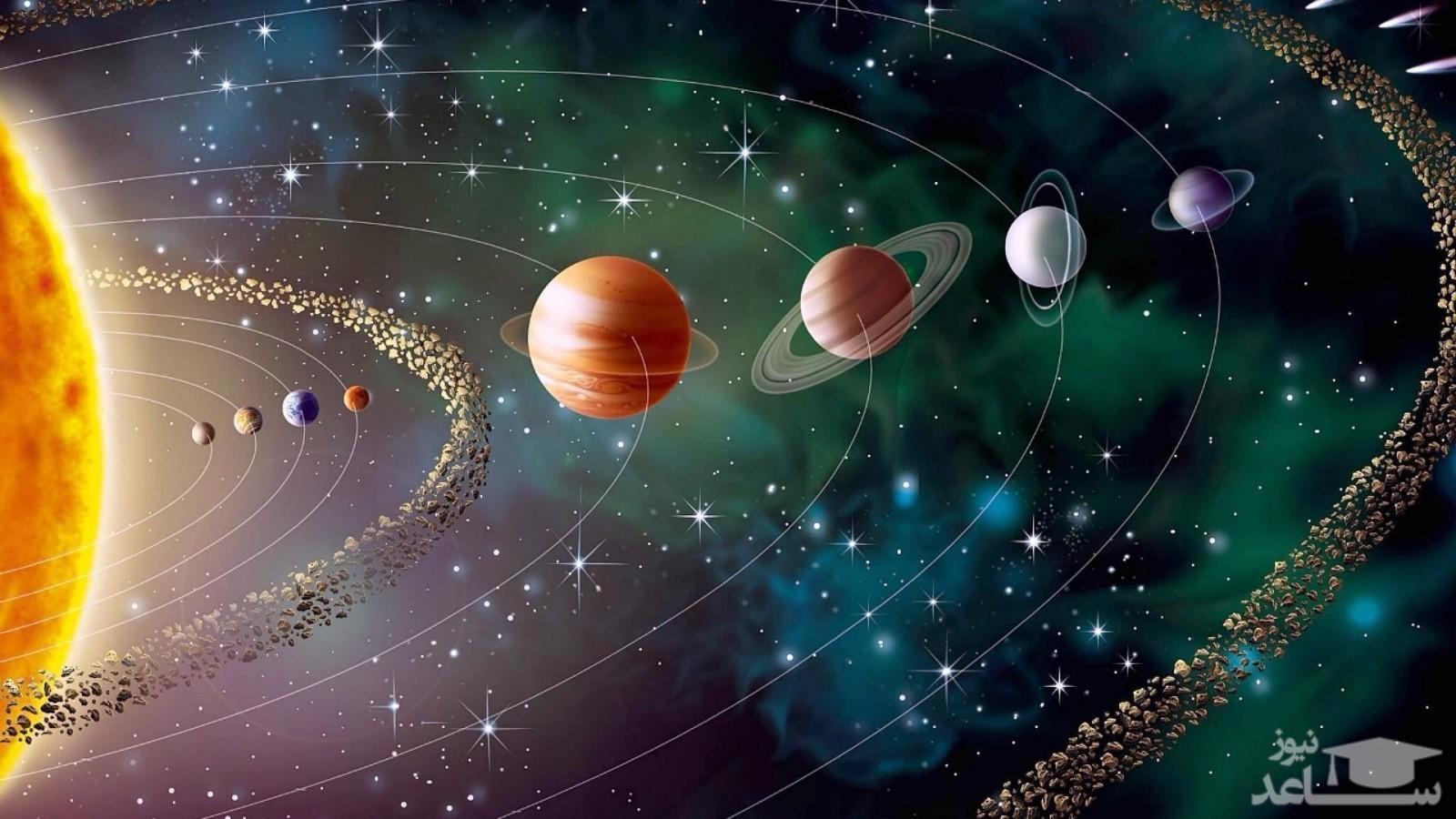 تصویری زیبا از کهکشان راه شیری