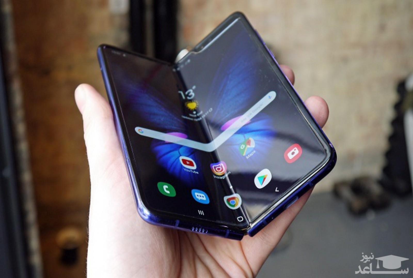 سامسونگ تولید نمایشگر موبایل تاشوی گوگل را از ابتدای پاییز آغاز میکند
