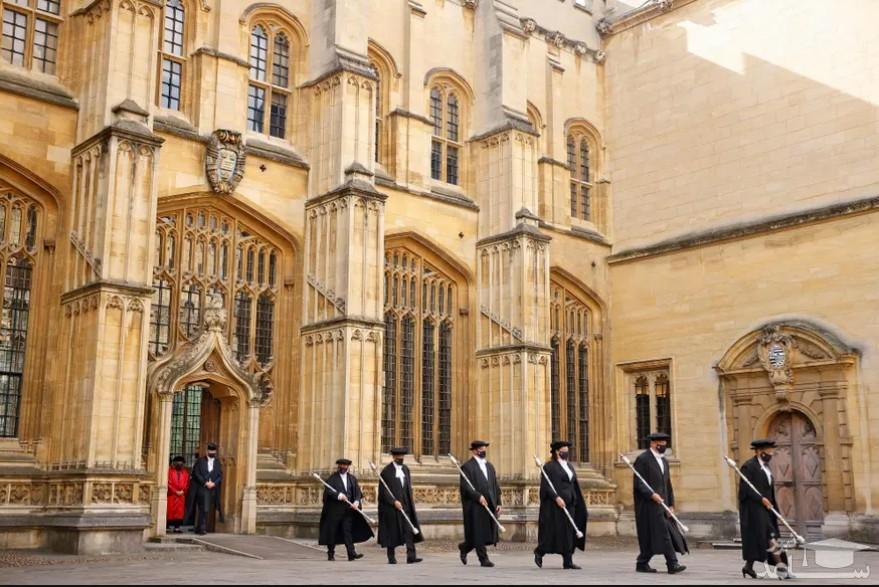 مراسم اعطای دکترای افتخاری دانشگاه آکسفورد بریتانیا به هیلاری کلینتون/ خبرگزاری فرانسه