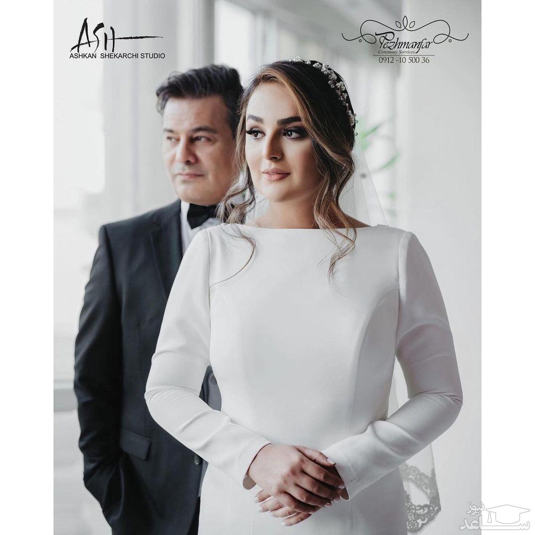 ازدواج پیمان قاسم خانی و میترا ابراهیمی