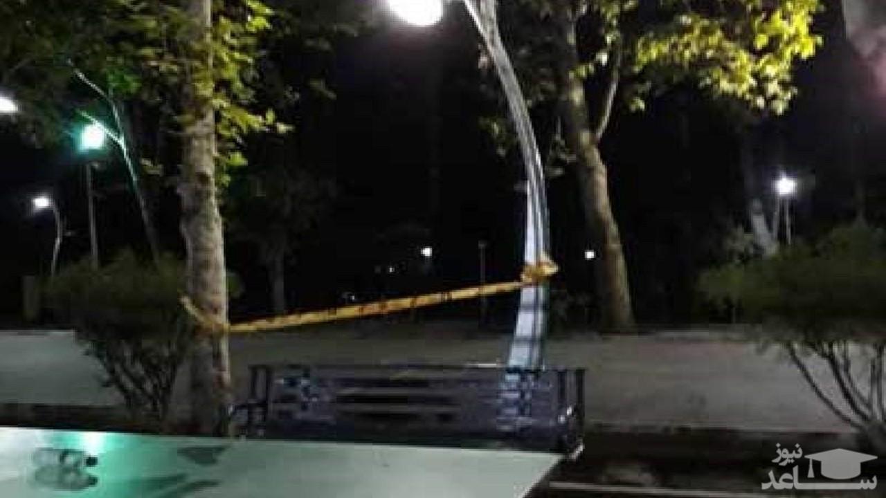 (فیلم) ماجرای جان باختن نوجوان ۱۴ساله در پارک لاله تهران