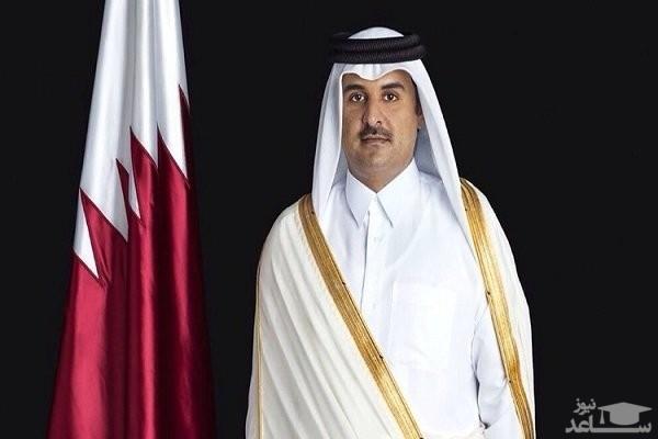 امیر قطر وارد تهران شد
