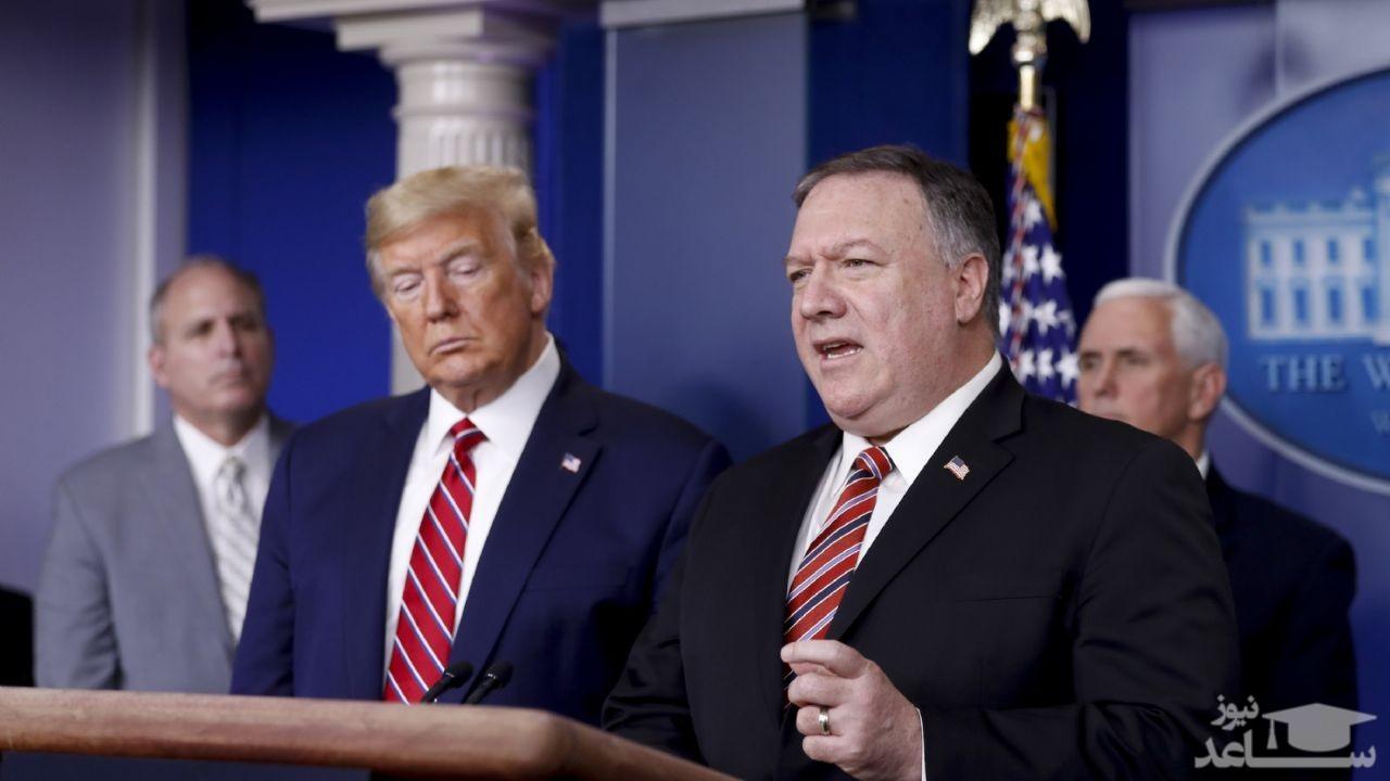 پمپئو ایران را تهدید کرد