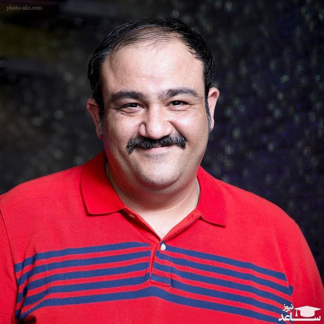 عکس جالب مهران غفوریان پس از لاغری 53 کیلویی!