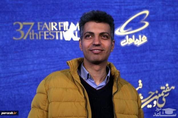 عادل فردوسیپور در پشت صحنه برنامه جدیدش