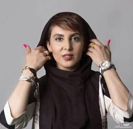 تیپ ورزشی لیلا بلوکات در باشگاه ورزشی