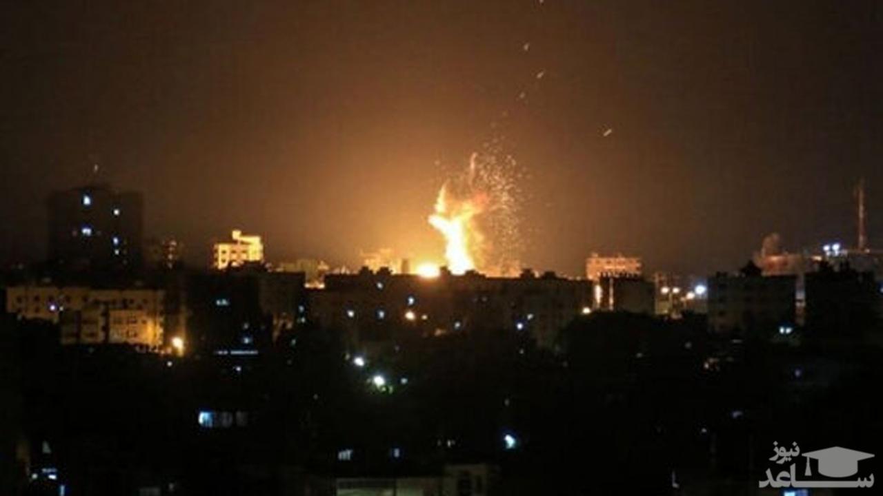(فیلم) فریادهای «یالثارات قاسم سلیمانی» در نوار غزه