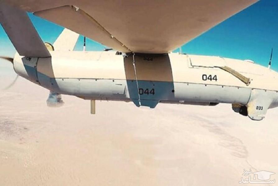(فیلم)اولین تصاویر از ساقط شدن پهپاد متجاوز در شمالغرب کشور
