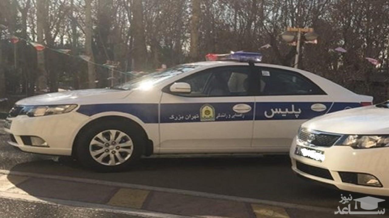 (عکس) کار زیبای پلیس تهرانی جهانی شد