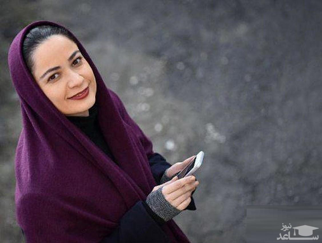 کودکی های بامزه نسرین نصرتی؛  بازیگر سریال پایتخت