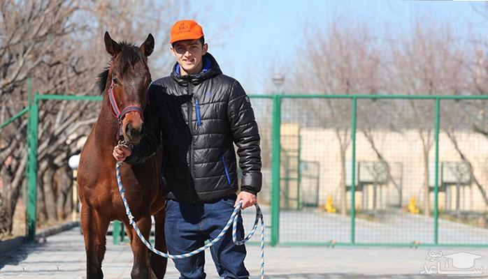 سردار آزمون اسب ۵ میلیارد تومانی خرید !