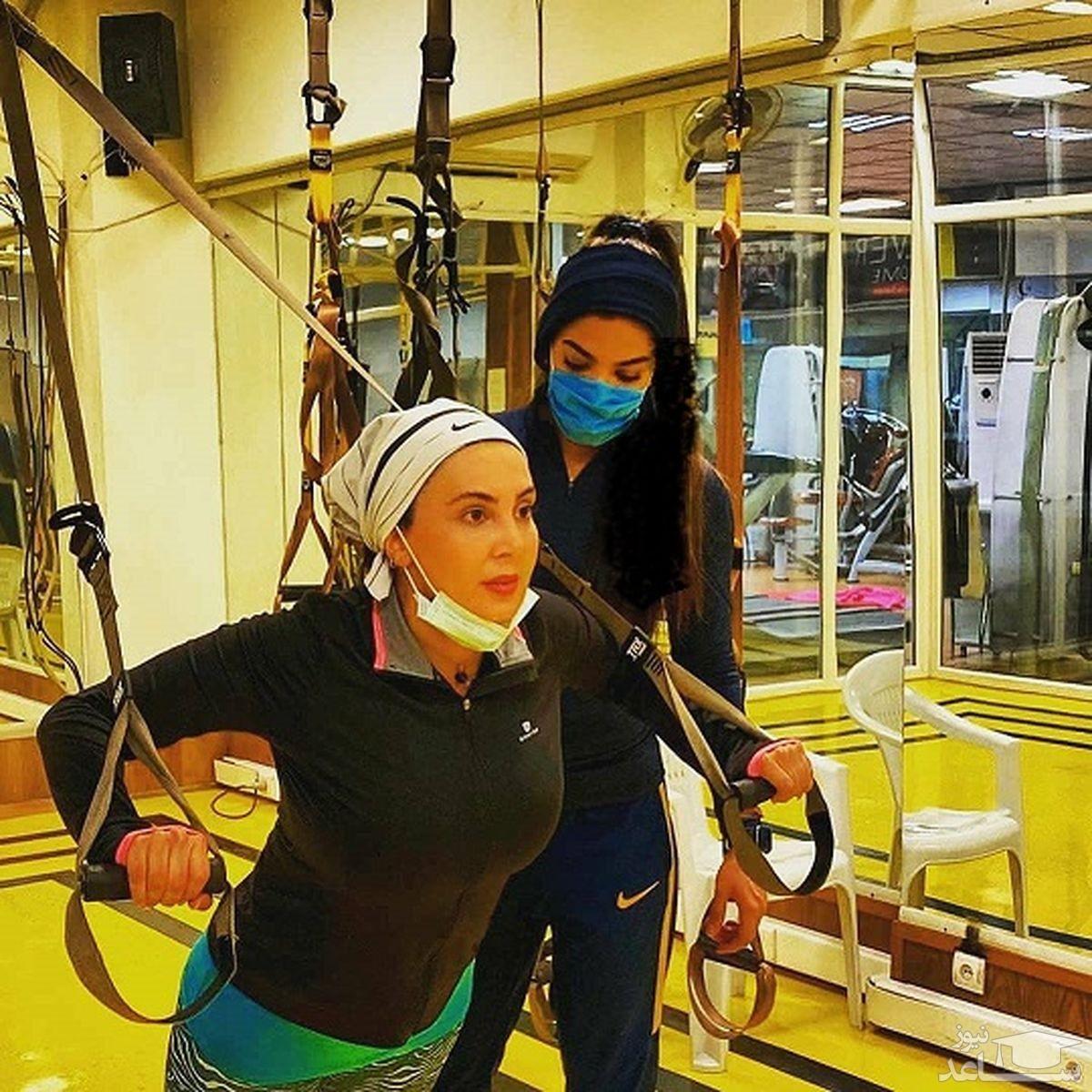 ورزش لیلا بلوکات