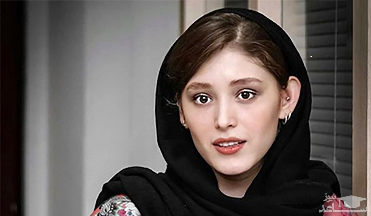 عکس جدید فرشته حسینی با کلاه