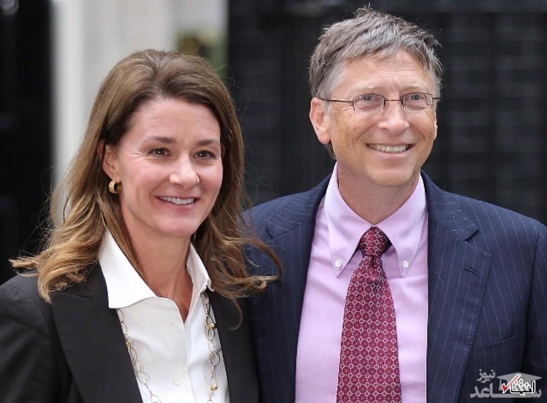 طلاق بیل گیتس و همسرش پس از ۲۷ سال زندگی