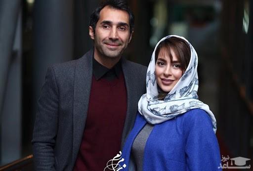 سمانه پاکدل و همسرش در سفر خارج از کشور