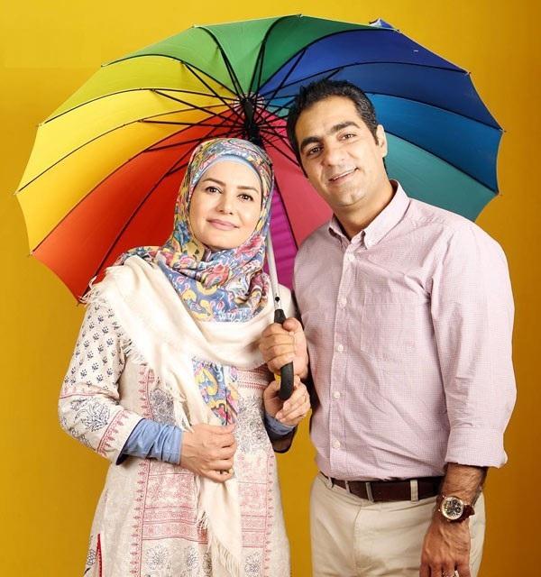 خاله رویا و همسرش در کنار هم