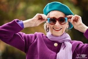 پیرترین مدل جهان در 91 سالگی همچنان فعالیت می کند!