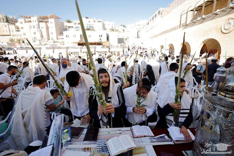 """برگزاری آیین های عید یهودی """"سوکوت"""""""
