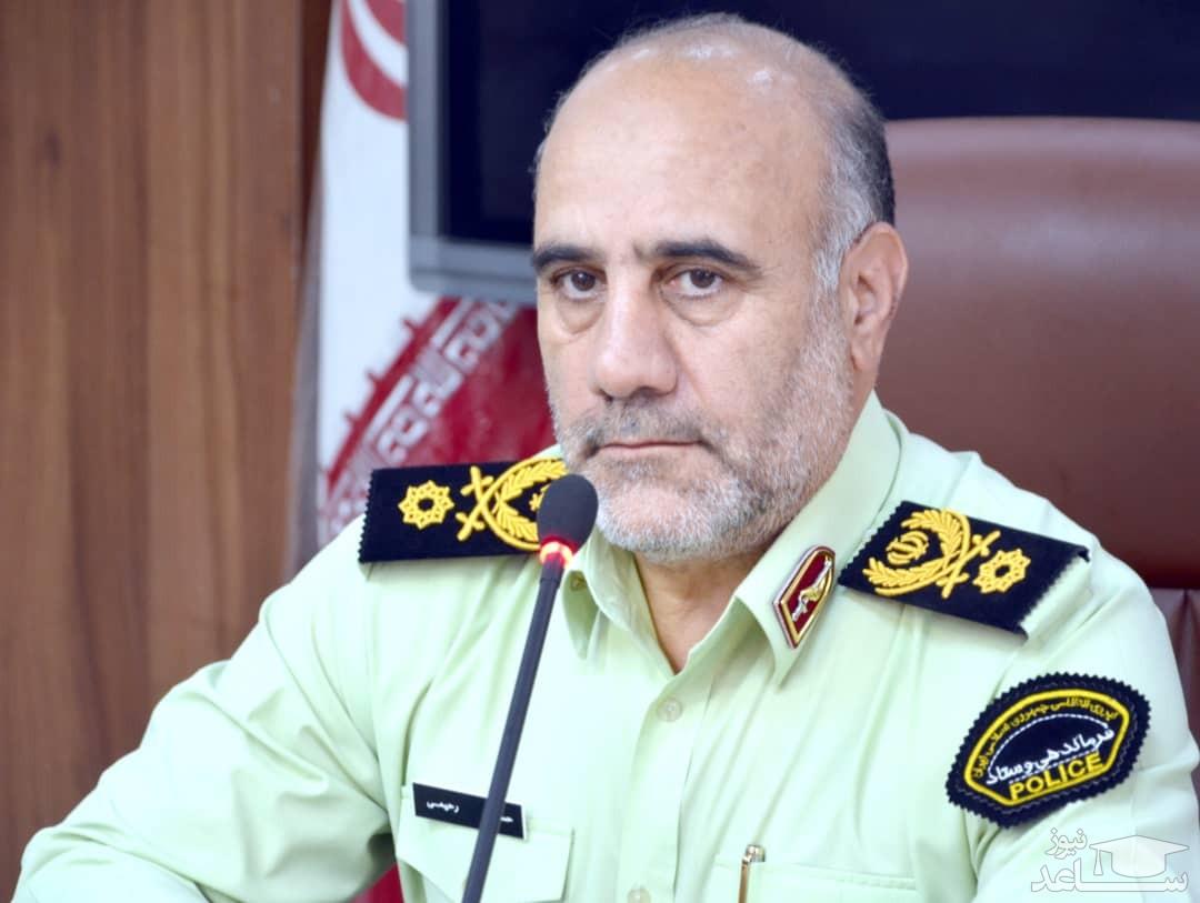 ( فیلم) توضیحات سردار رحیمی در خصوص جزئیات دستگیری عامل انتحاری در عوارضی تهران