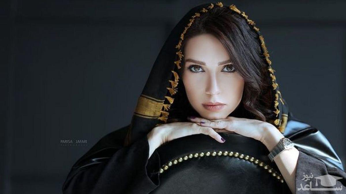 کافه گردی شهرزاد کمال زاده با تیپ خاص و متفاوت