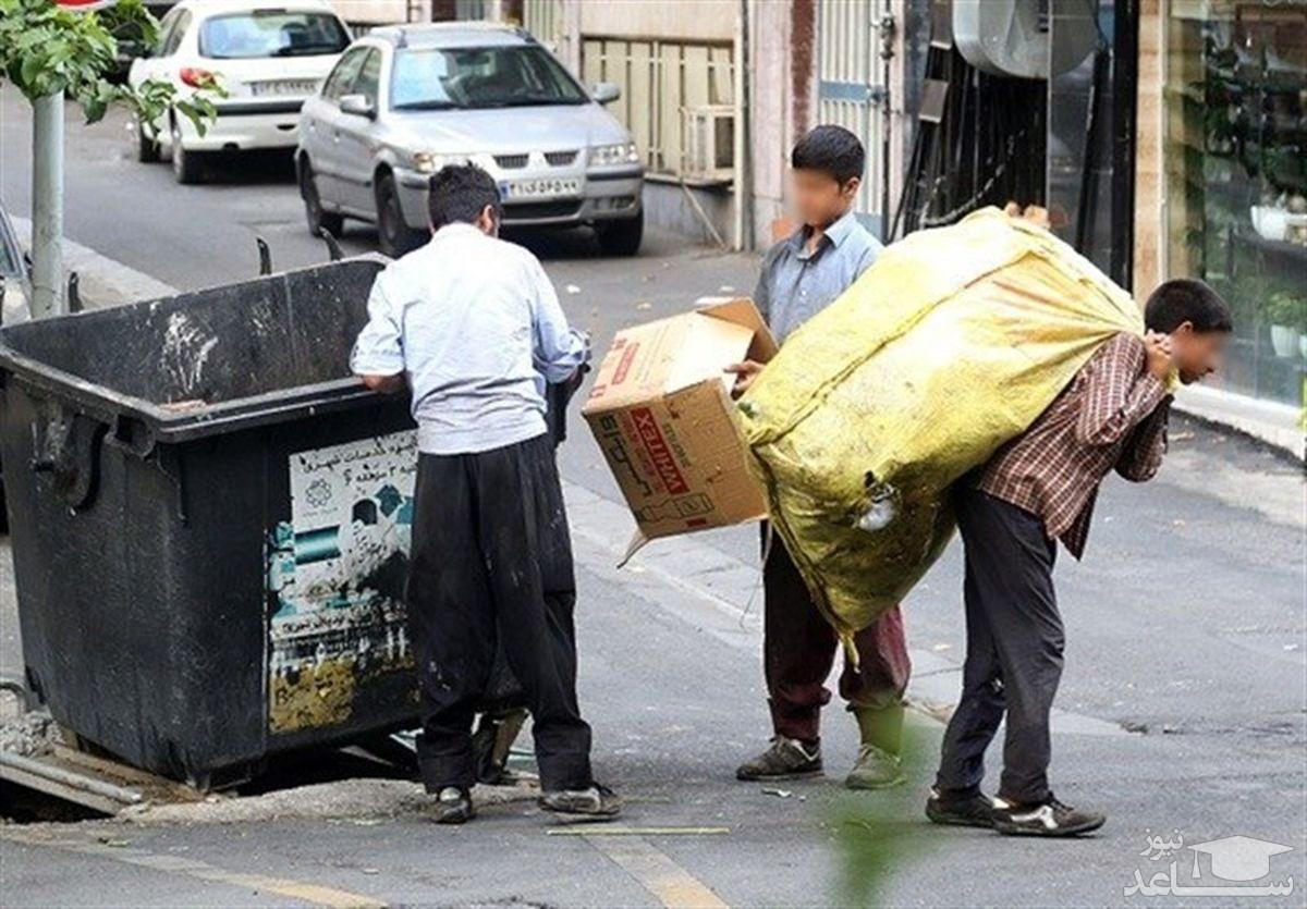 قتل کودک کار در ولنجک تهران!/ جنازه در سطل زباله بود