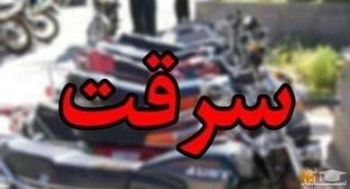 محسن چادر به سر به خانه خاله اش رفت تا خلاف کند