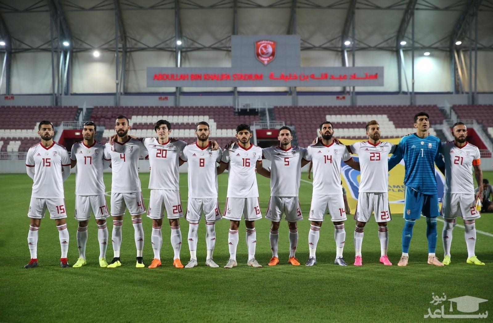 زمان برگزاری ۴ بازی تیم ملی فوتبال ایران در انتخابی جام جهانی ۲۰۲۲