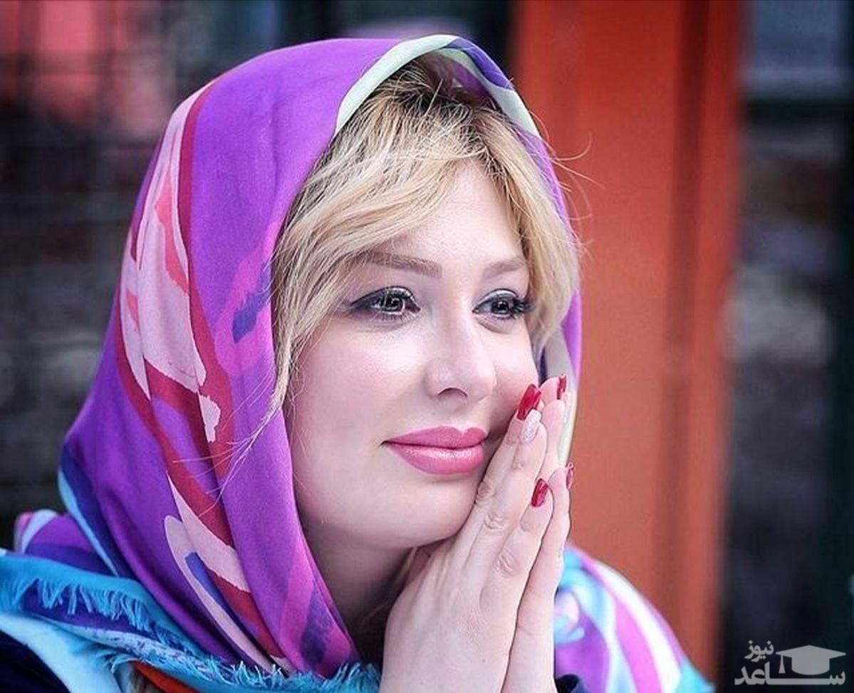 رونمایی نیوشا ضیغمی از بینی اش بعد از عمل زیبایی مجدد