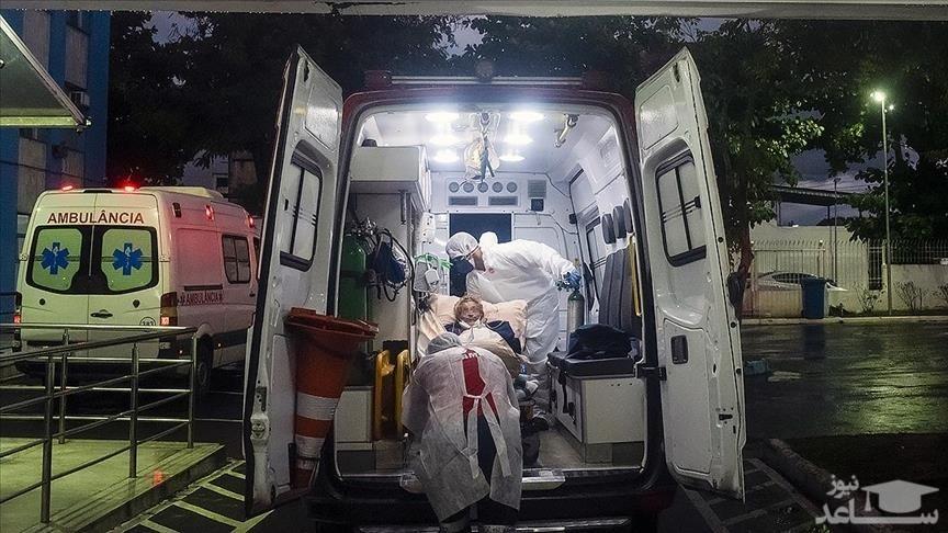 (عکس) پلاستیک پیچ کردن یک قربانی کووید 19 در اندونزی