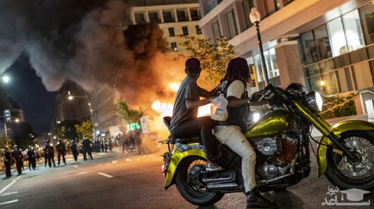 خشونتها در آمریکا به نفع ترامپ است یا بایدن؟