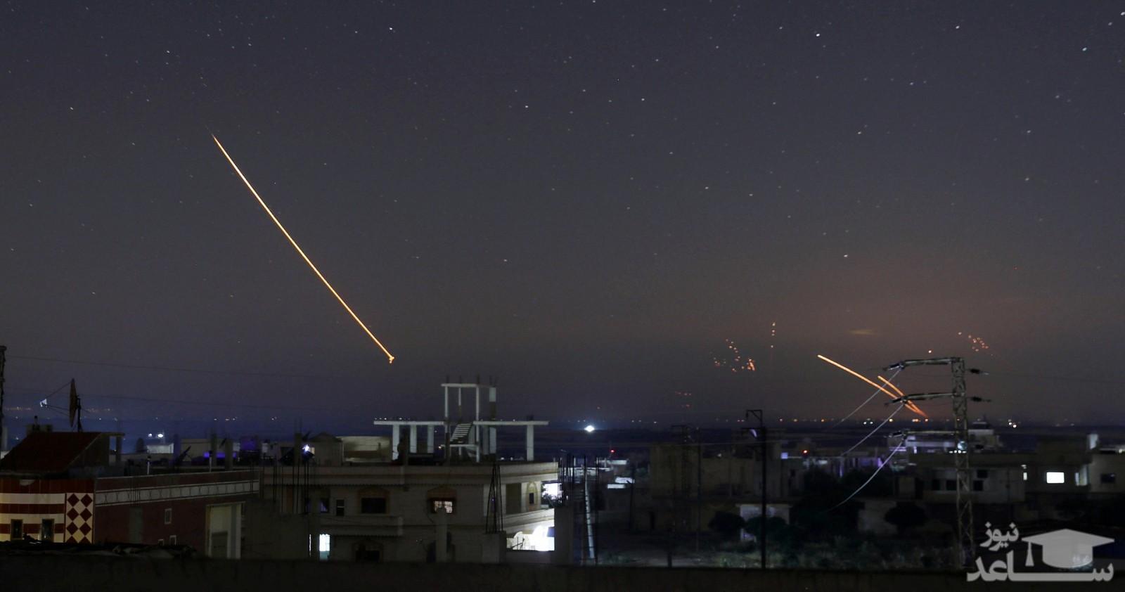 شلیک 350 راکت در 20 دقیقه به تل آویو