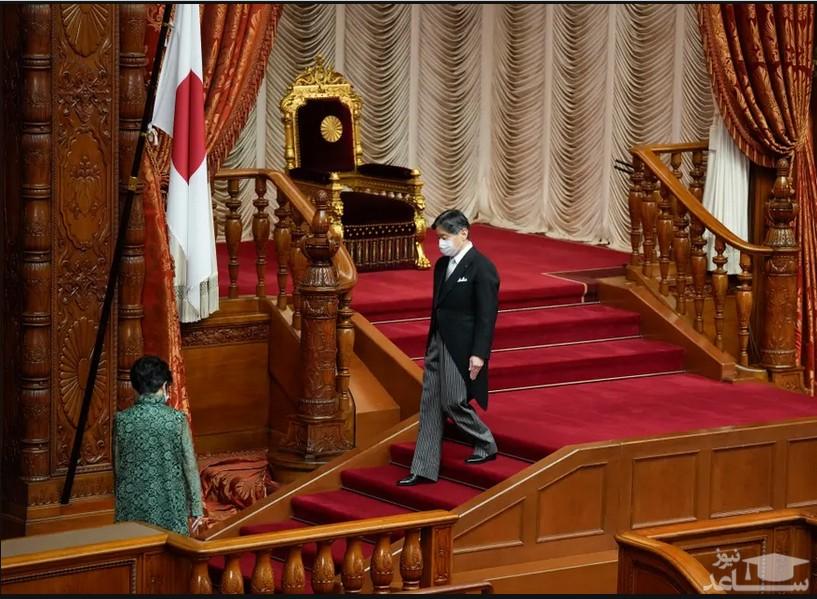 سخنرانی افتتاحیه امپراتور ژاپن در مجلس سنا/ EPA