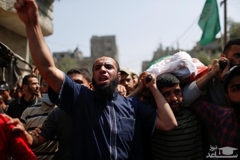 تشییع یک فلسطینی
