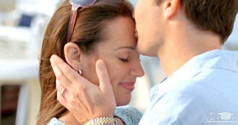 روش های مختلف بوسیدن همسر