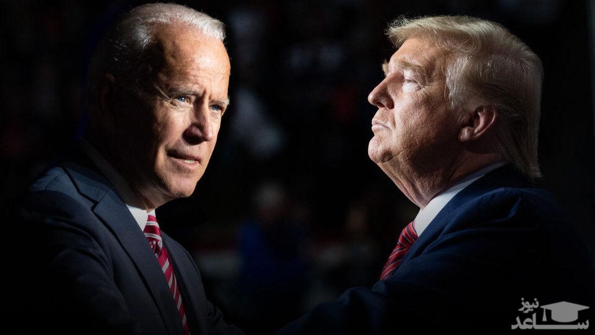 فاصله بین ترامپ و بایدن در انتخابات کمتر شد