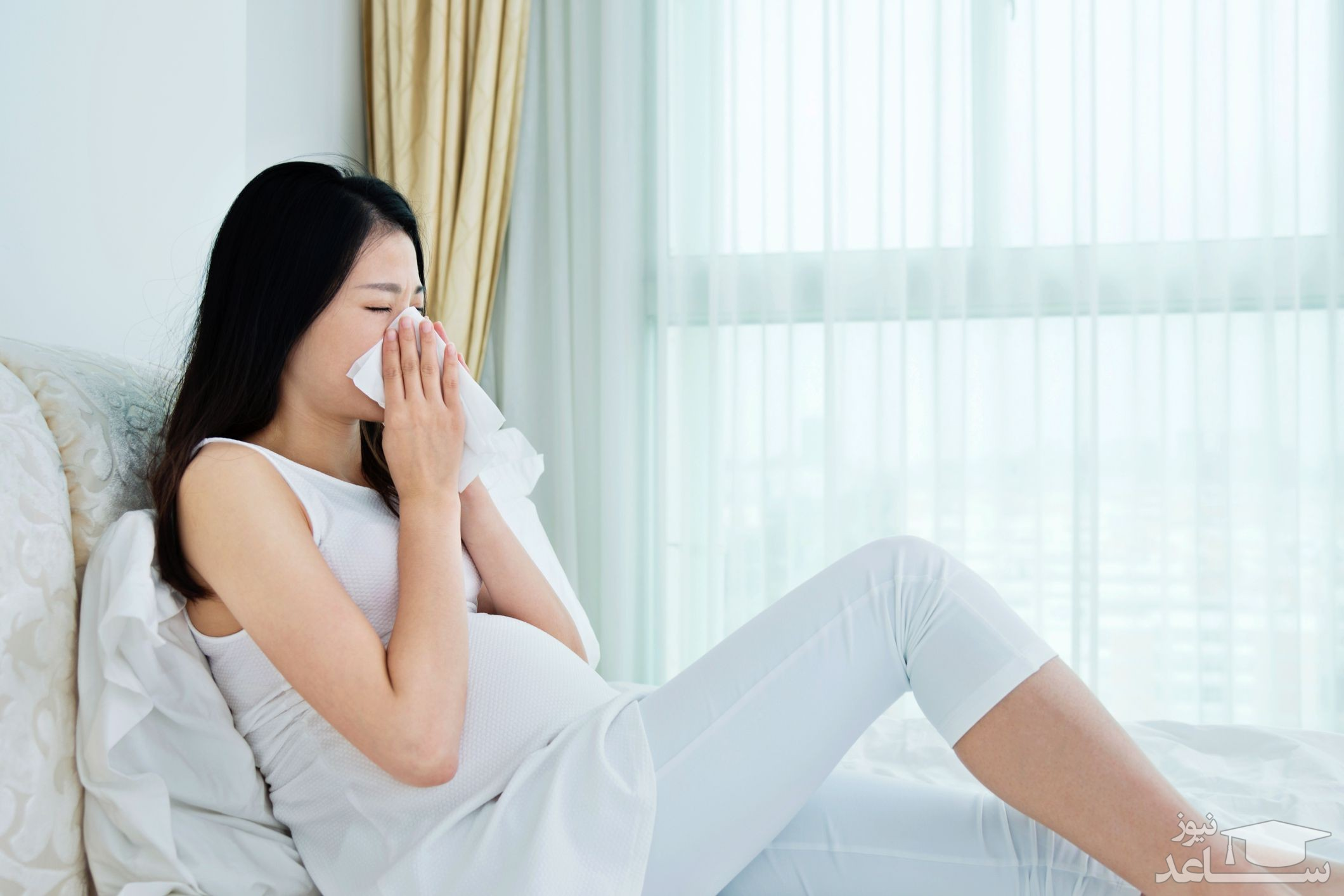 درمان آبریزش و گرفتگی بینی در دوران بارداری با طب سنتی