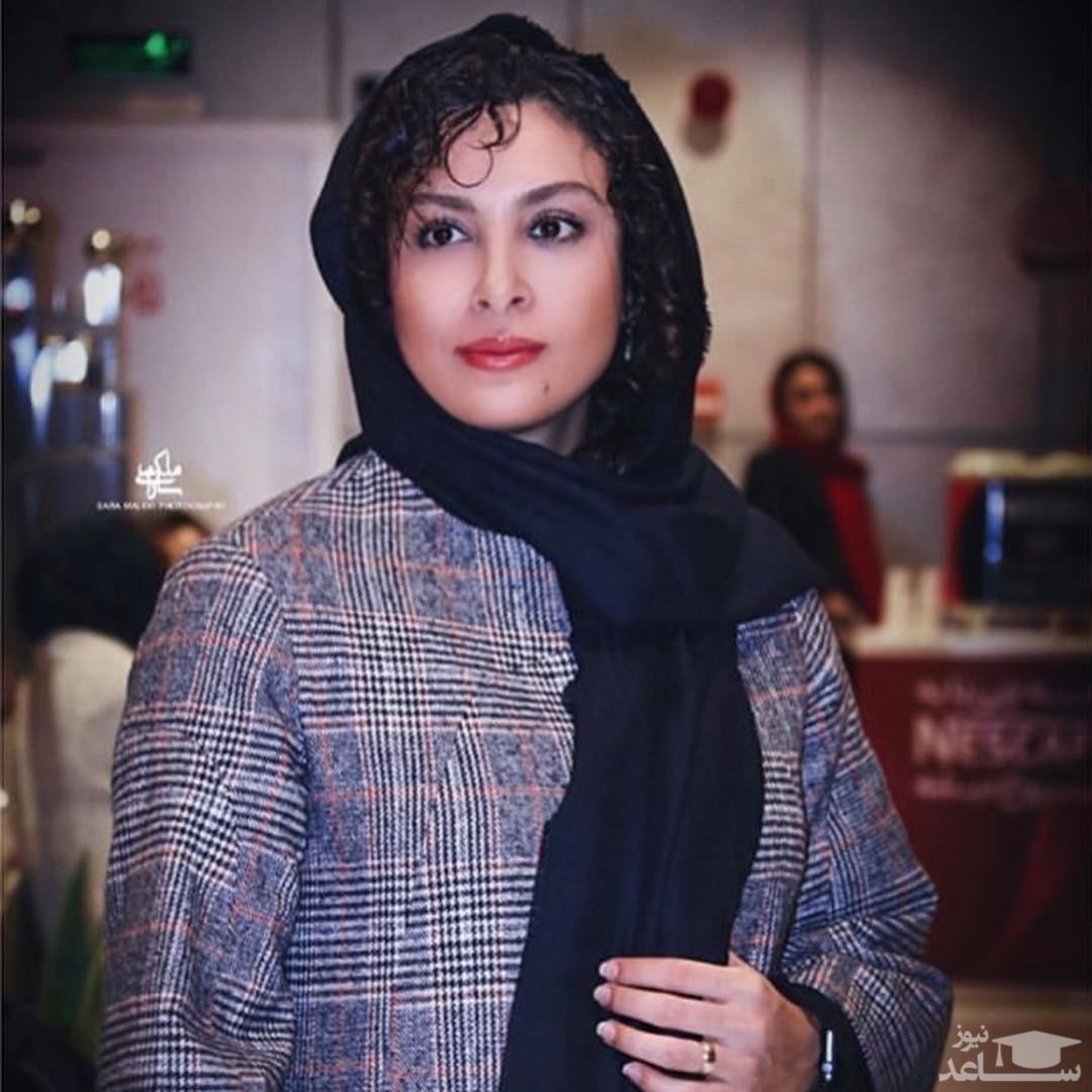 عکس جدید از حدیثه تهرانی درکنار همسرش