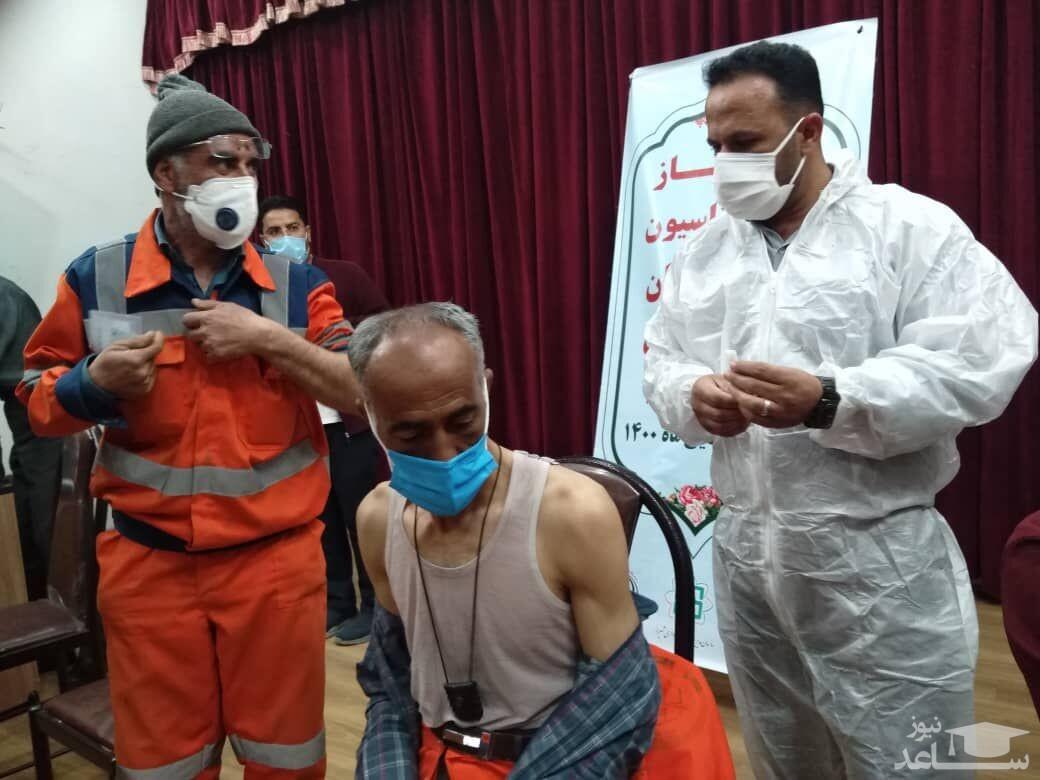 مرگ دو پاکبان مشهدی پس از تزریق واکسن کرونا