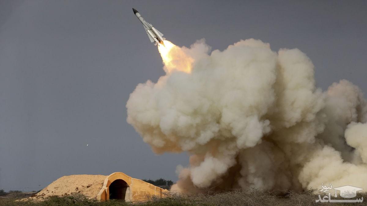 (عکس)  موشکی که عربستان و اسرائیل را سوراخ کرد