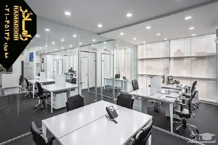 پارتیشن شیشه ای راهکاری برای دکوراسیون فضاهای کوچک