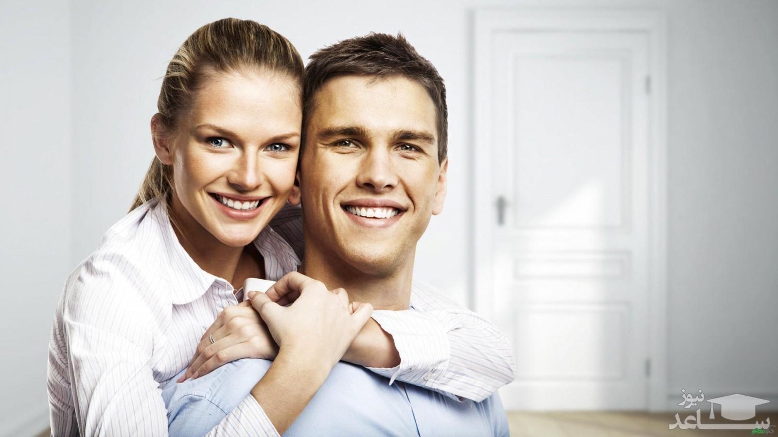 فواید جسمی و روحی بغل کردن همسر