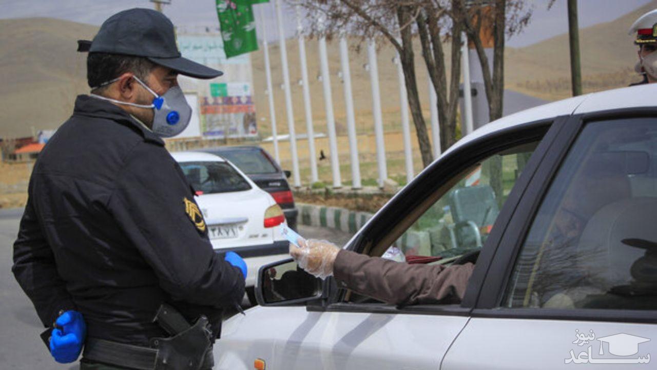 استقرار 3500 گشت پلیس در جادههای کشور/ احتمال تداوم ممنوعیت سفر به شهرهای گردشگرپذیر