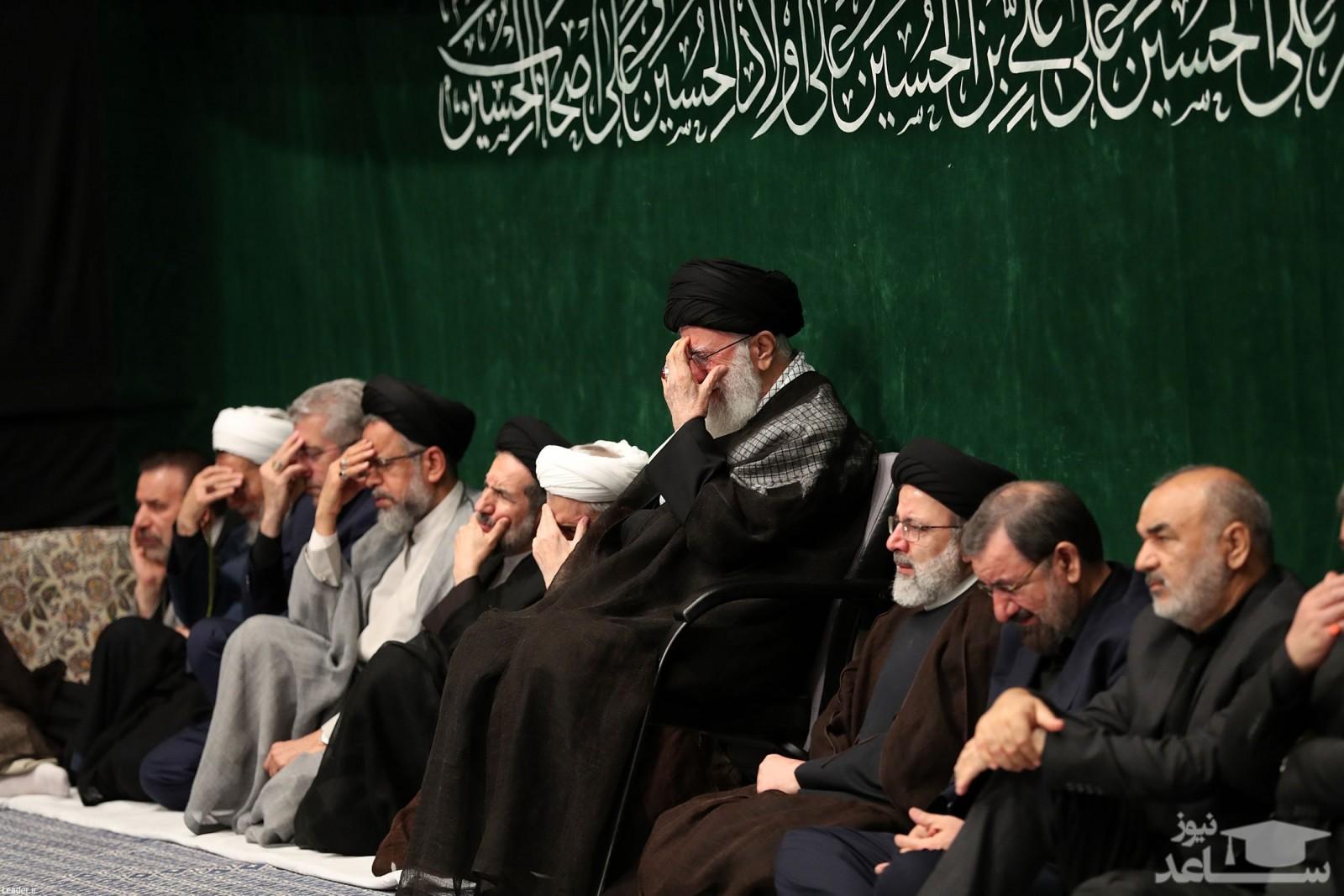 (عکس) عزاداری سردارها در بیت رهبری