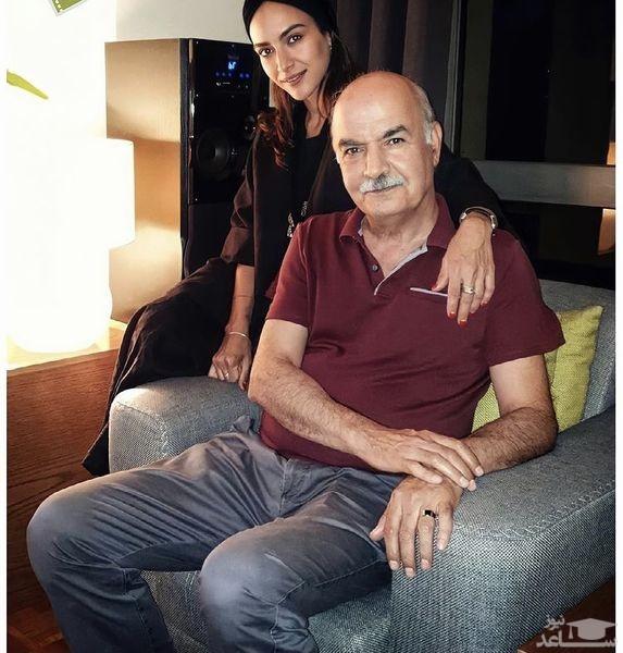 ایرج طهماسب و دخترش