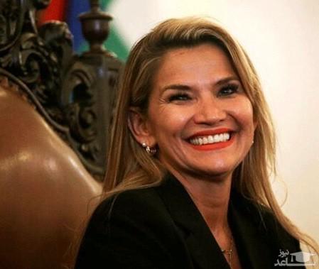 انتشار فیلم منشوری خانم رئیس جمهور بولیوی با راننده اش