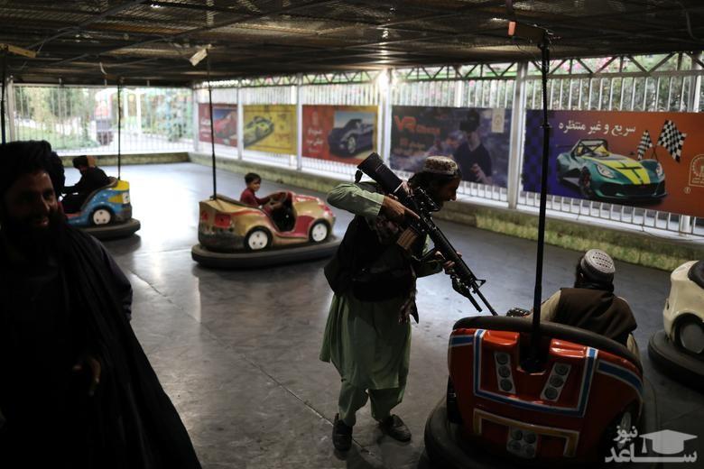 بازی طالبانل در شهربازی شهر کایل