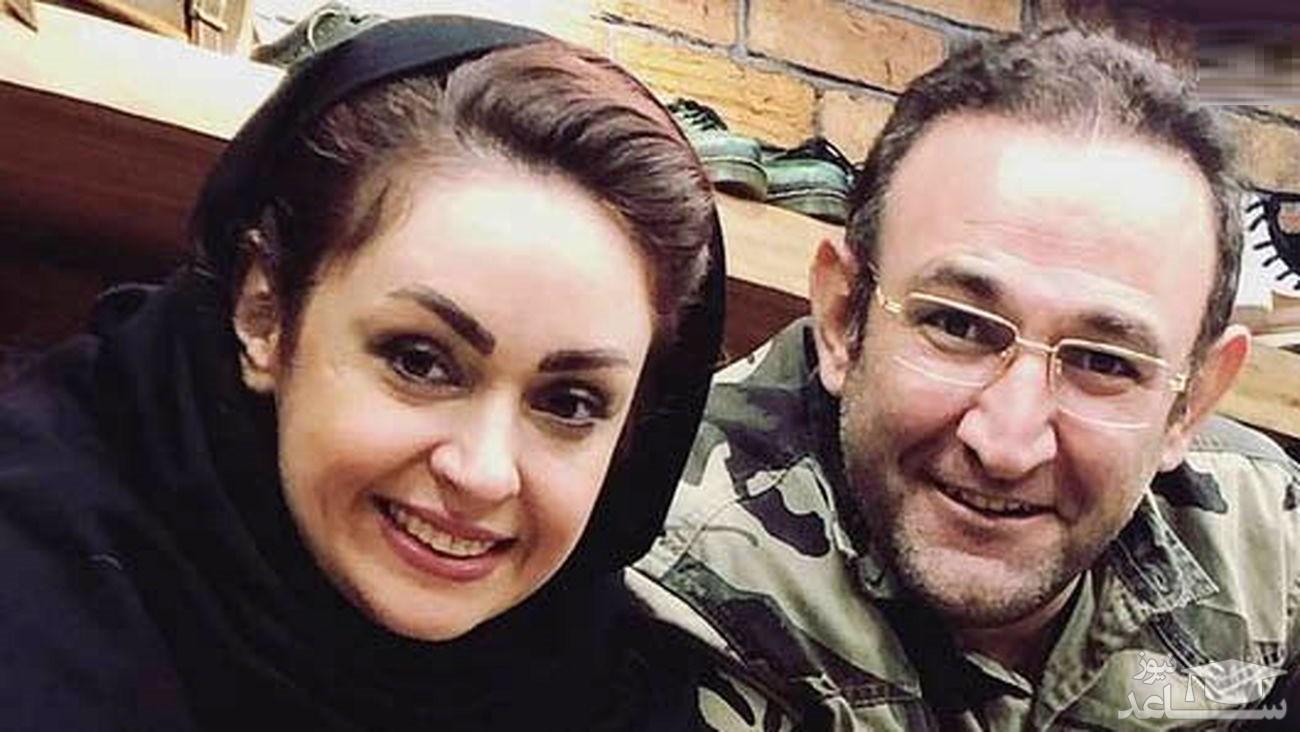 پیر شدن یک شبه هدایت هاشمی و همسرش